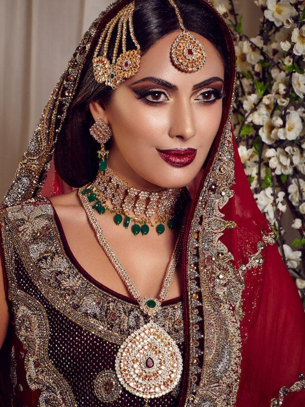 Mirza Ghalib Choker Bridal Set Swavo Collection