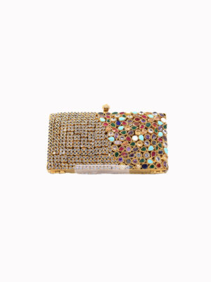 The Multi-Gem Formal Clutch Bag Swavo Collection