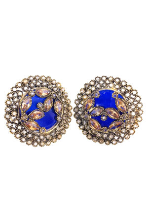 3D Floral Studs - Earrings Swavo Collection