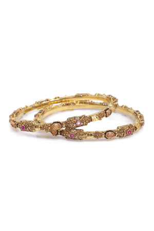 Artisan Bangle Pair -Swavo Collection
