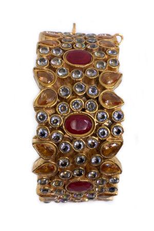 Humayra Single Cuff Bracelet - Swavo Collection