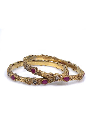 Mastani Bangle Pair - Swavo Collection