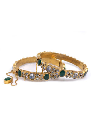 Humayra Bangle Pair - Swavo Collection