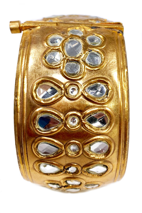 Meena Gold Cuff - Heirloom Collection 2019 Swavo Collection