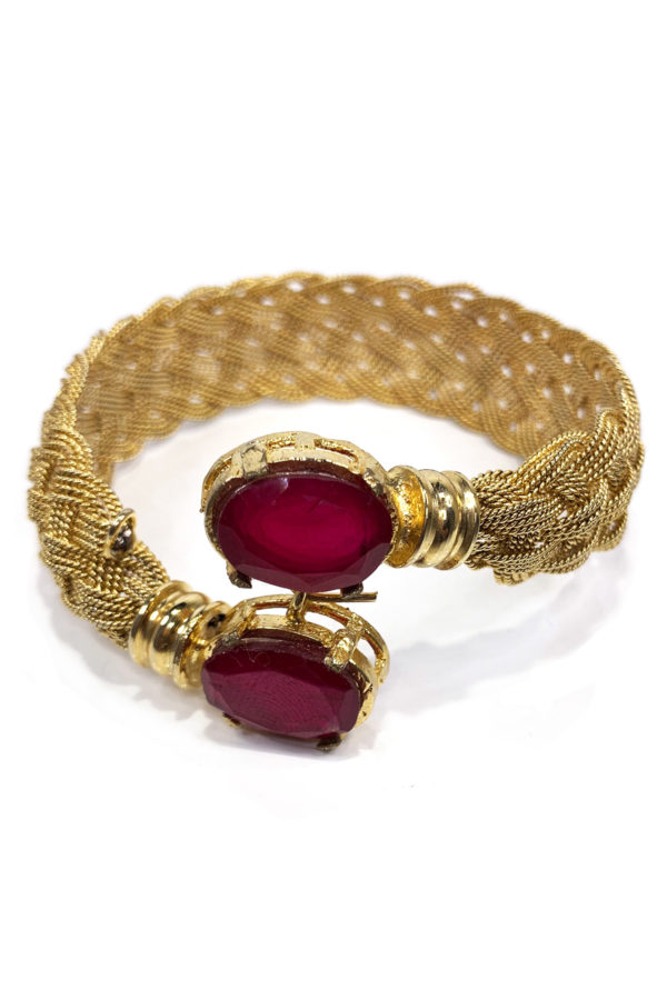 Basant Twist Single Bangle - Swavo Collection