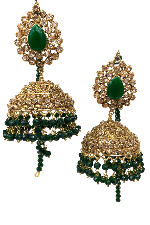 Chambelie Jhumky Medium Earrings - Swavo Collection