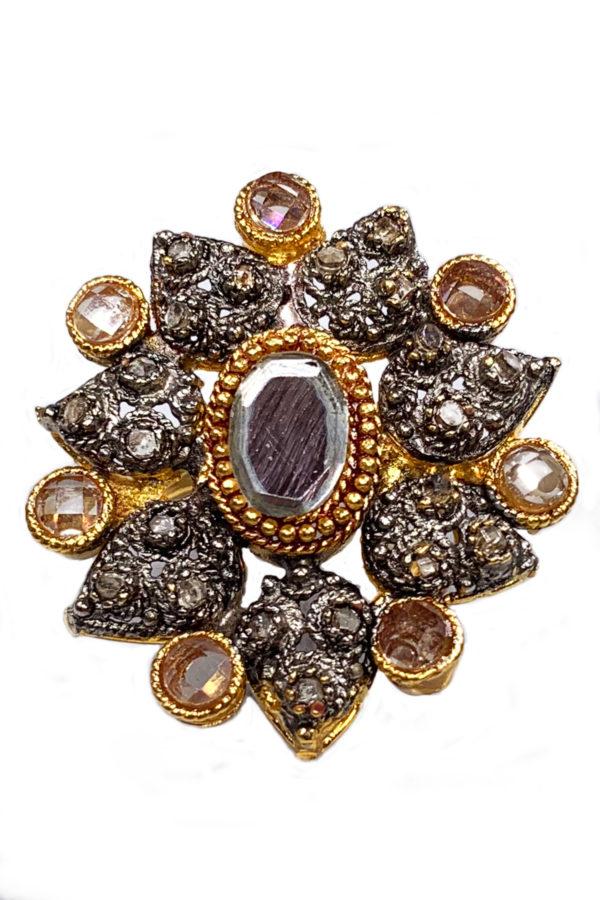 Signature Jasmine Clustered Ring - Swavo Collection