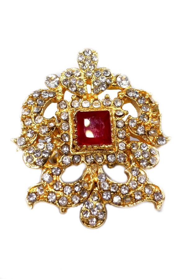 Prianka Emblem Ring - Swavo Collection