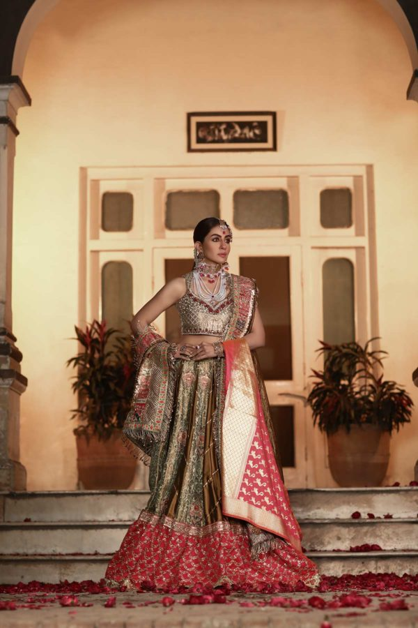 Sajal - English Rose Collection 2020 Swavo Collection
